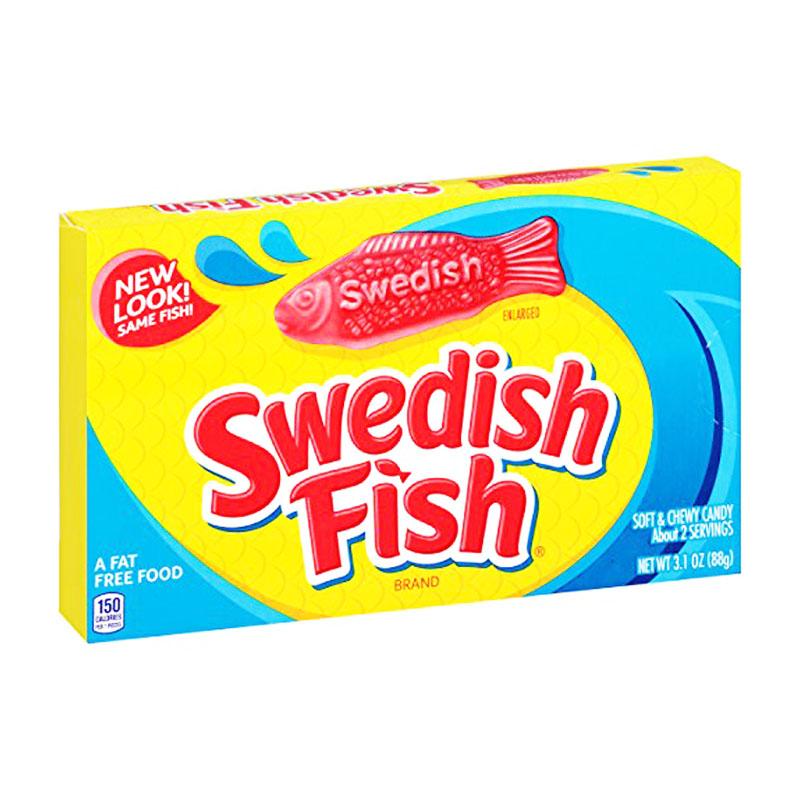 """Godis """"Swedish Fish"""" 88g - 67% rabatt"""