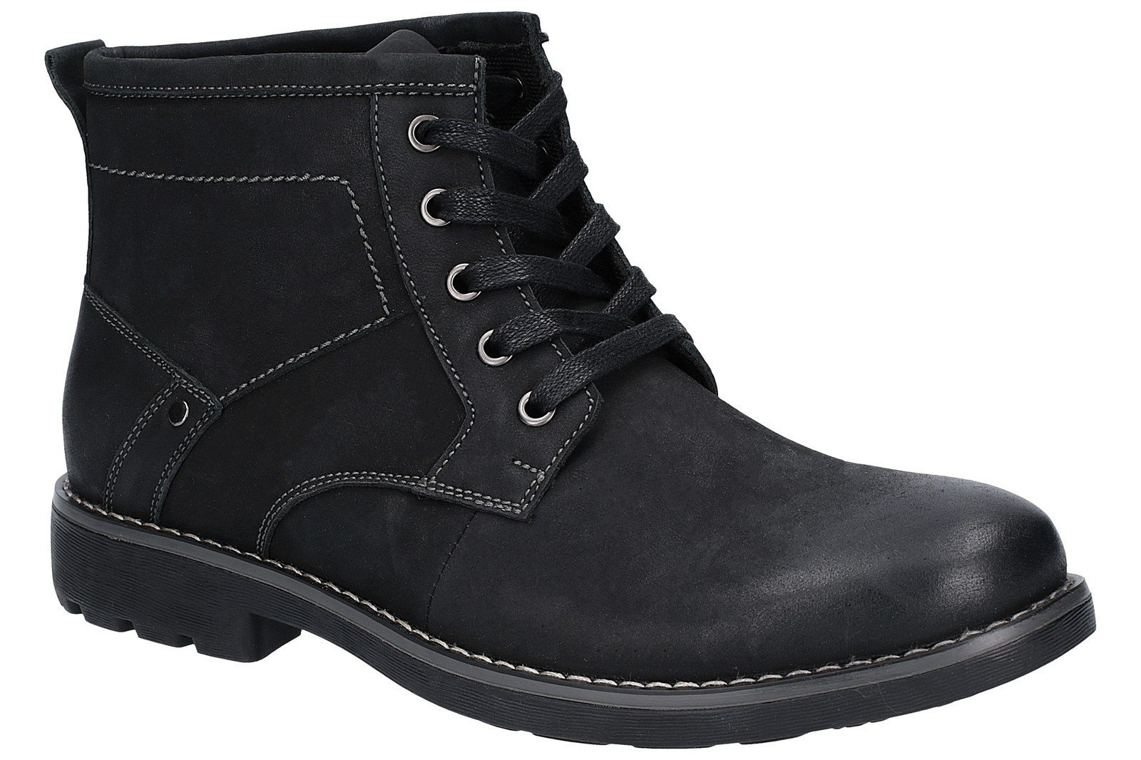 Hush Puppies men's Duke Chukka Boot Various Colours 27359 - Black 7