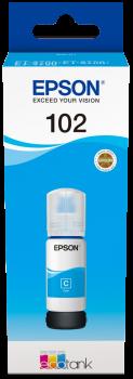 Epson - T102 EcoTank Ink Cyan Bottle - 70ml