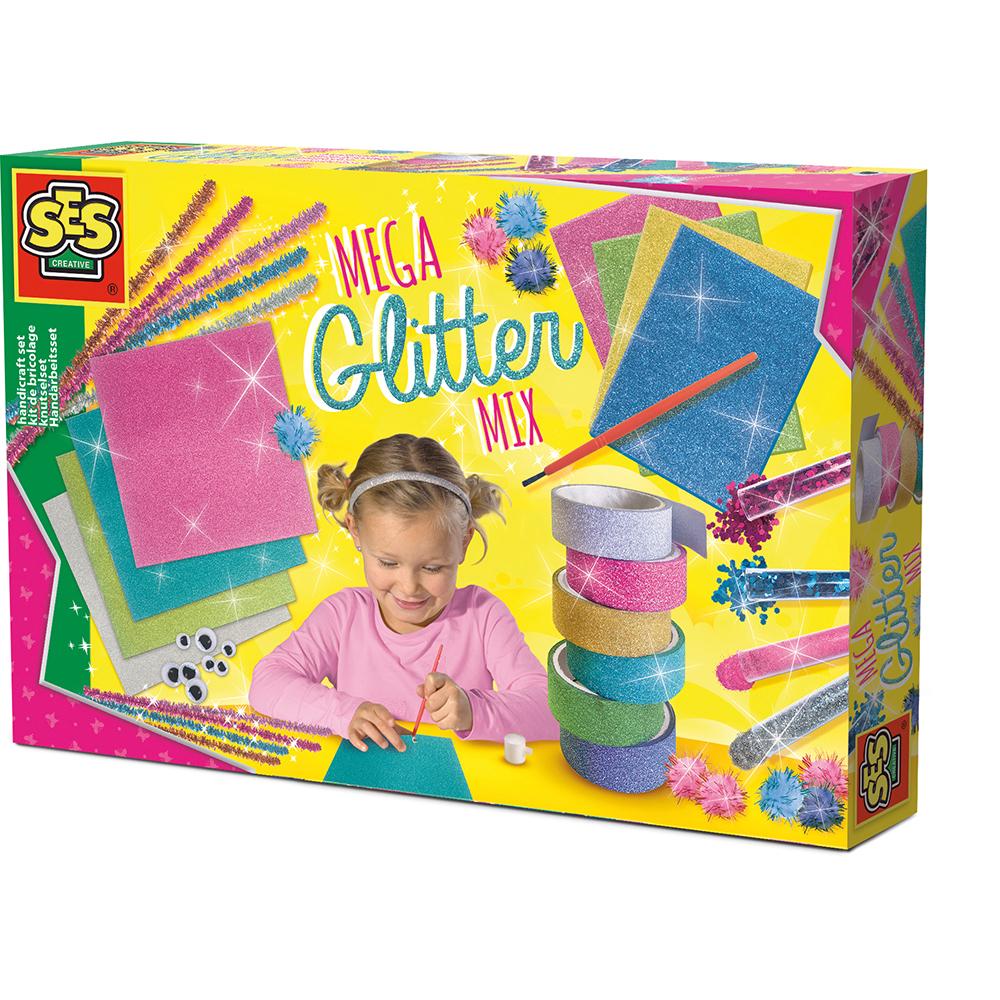 Ses Creative - Mega glitter handicraft set (S14109)