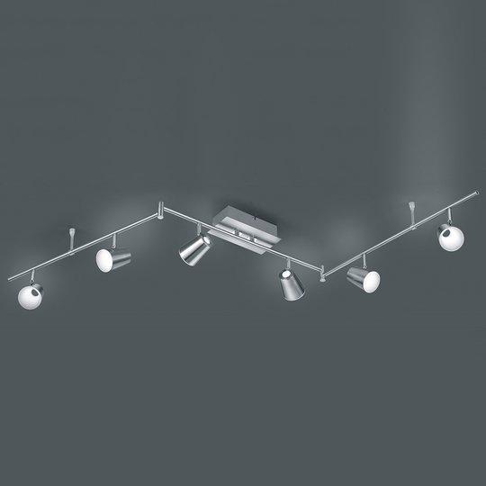 Kulmikas LED-kattolamppu Narcos