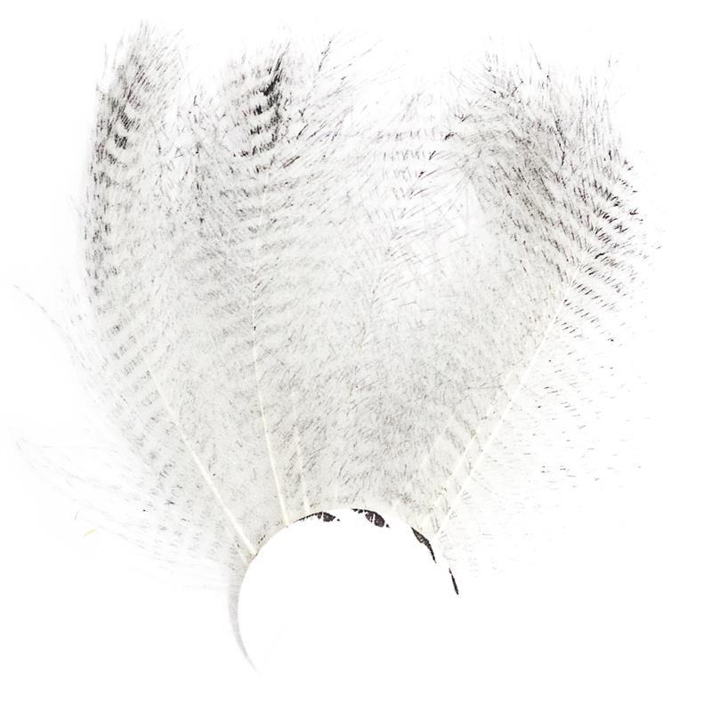 Barred CDC - White Stripete cdc-fjær fra Veniard