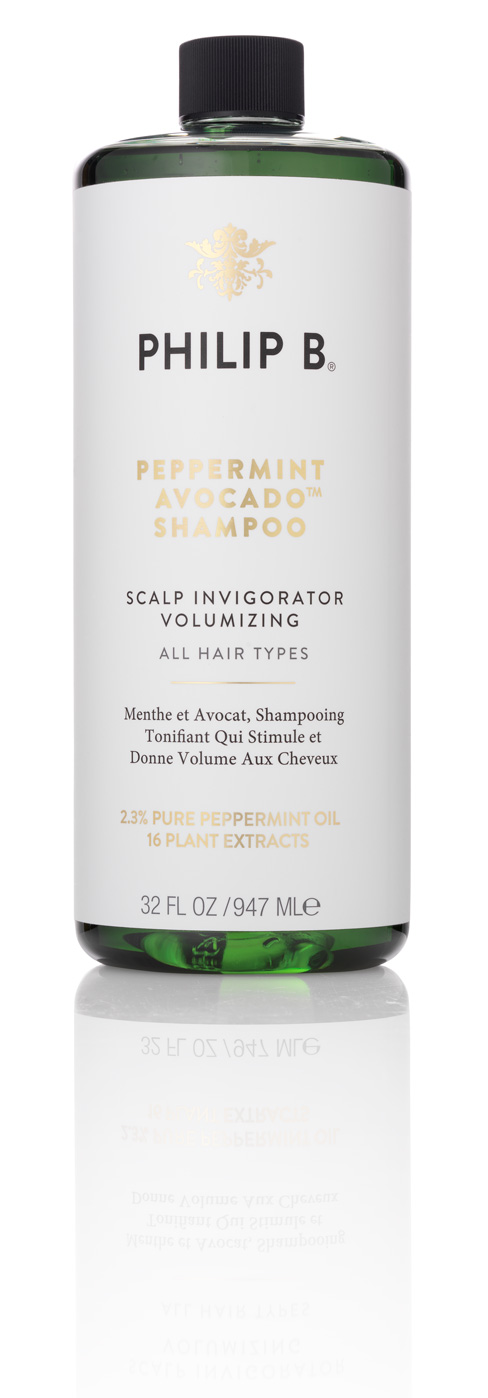 Philip B - Peppermint and Avocado Volumizing Clarifying Shampoo 947 ml