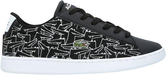 Lacoste Carnaby Evo 318 Sneaker, Black/White 35