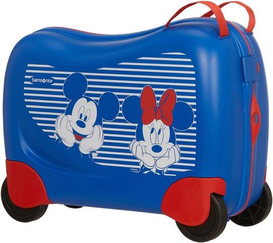 Samsonite Dreamrider Koffert Disney 28L, Minnie/Mickey Stripes