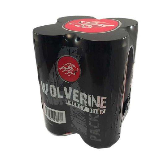 Energidryck Wolverine 4-pack - 36% rabatt