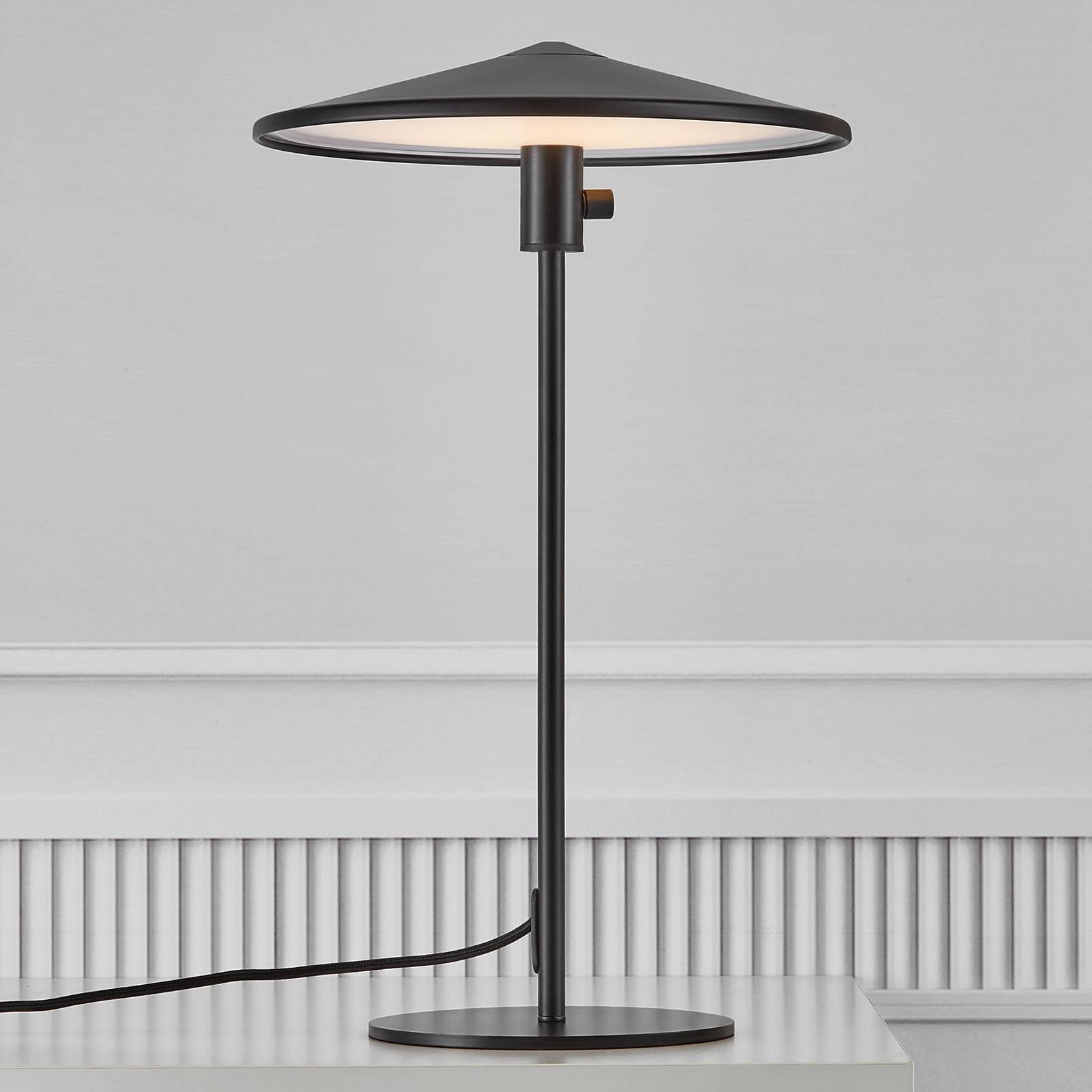 LED-pöytälamppu Balance, integroitu himmennin