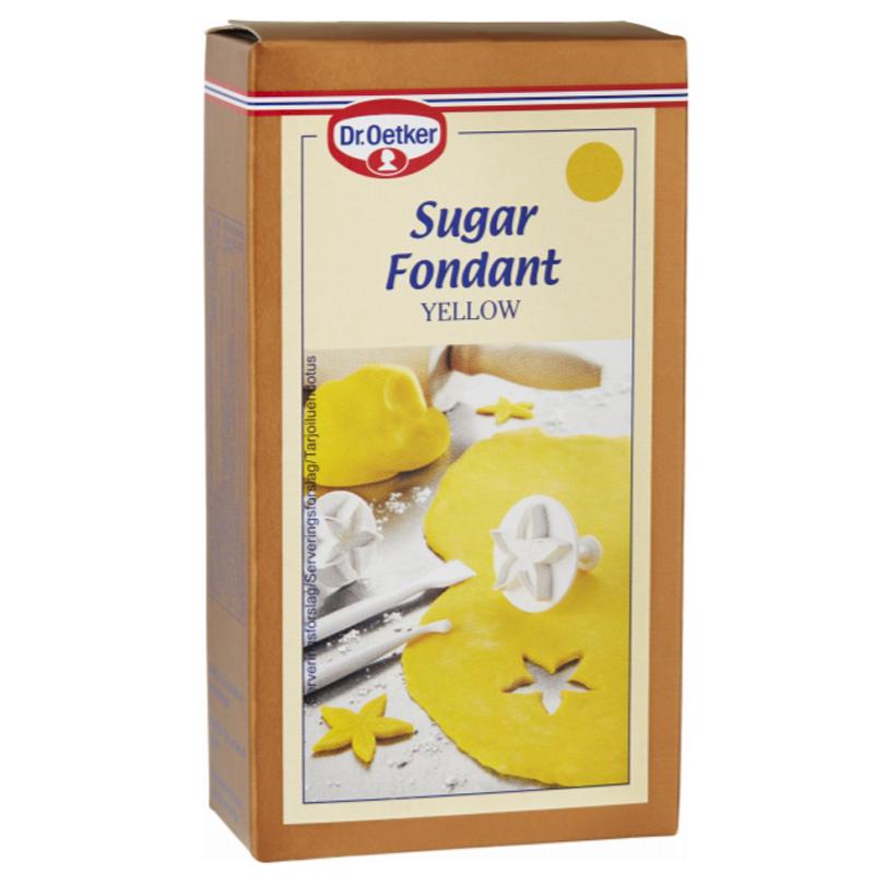 Sockermassa Gul 250g - 66% rabatt