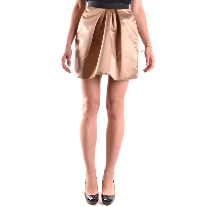 Dolce & Gabbana Women's Skirt Gold 164294 - gold 40