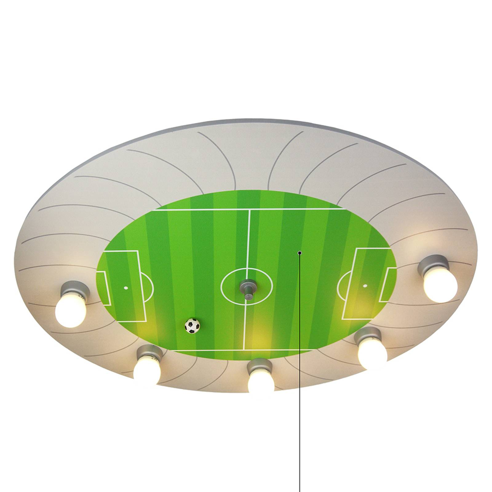 Kattovalaisin Jalkapallostadion LED-valoilla