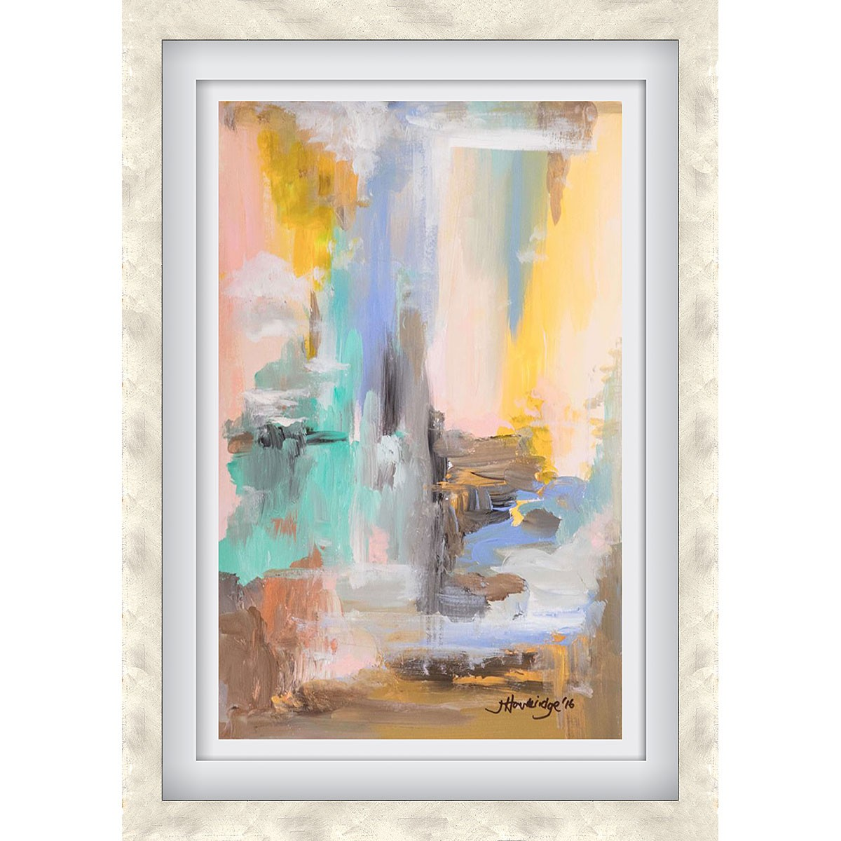 Into the Waterfall Silver - Medium