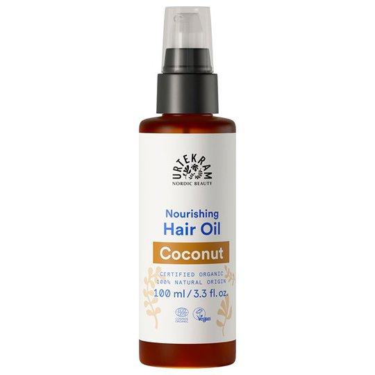 Urtekram Nordic Beauty Coconut Hair Oil, 100 ml