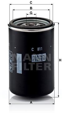 Ilmansuodatin MANN-FILTER C 811