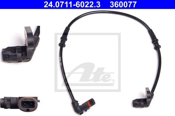 ABS-anturi ATE 24.0711-6022.3