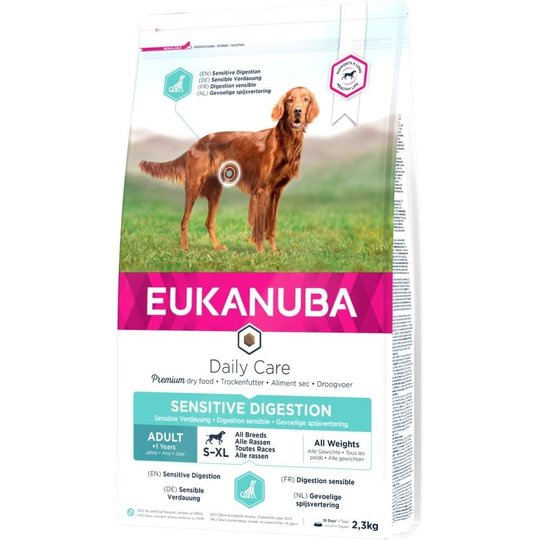 Eukanuba Daily Care Adult Sensitive Digestion All Breeds (2,3 kg)