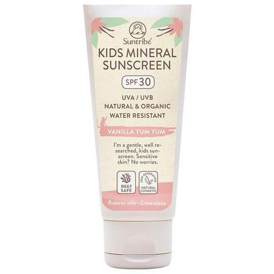 Suntribe Kids Mineral Sunscreen SPF 30 - Vanilla Yum Yum, 100 ml