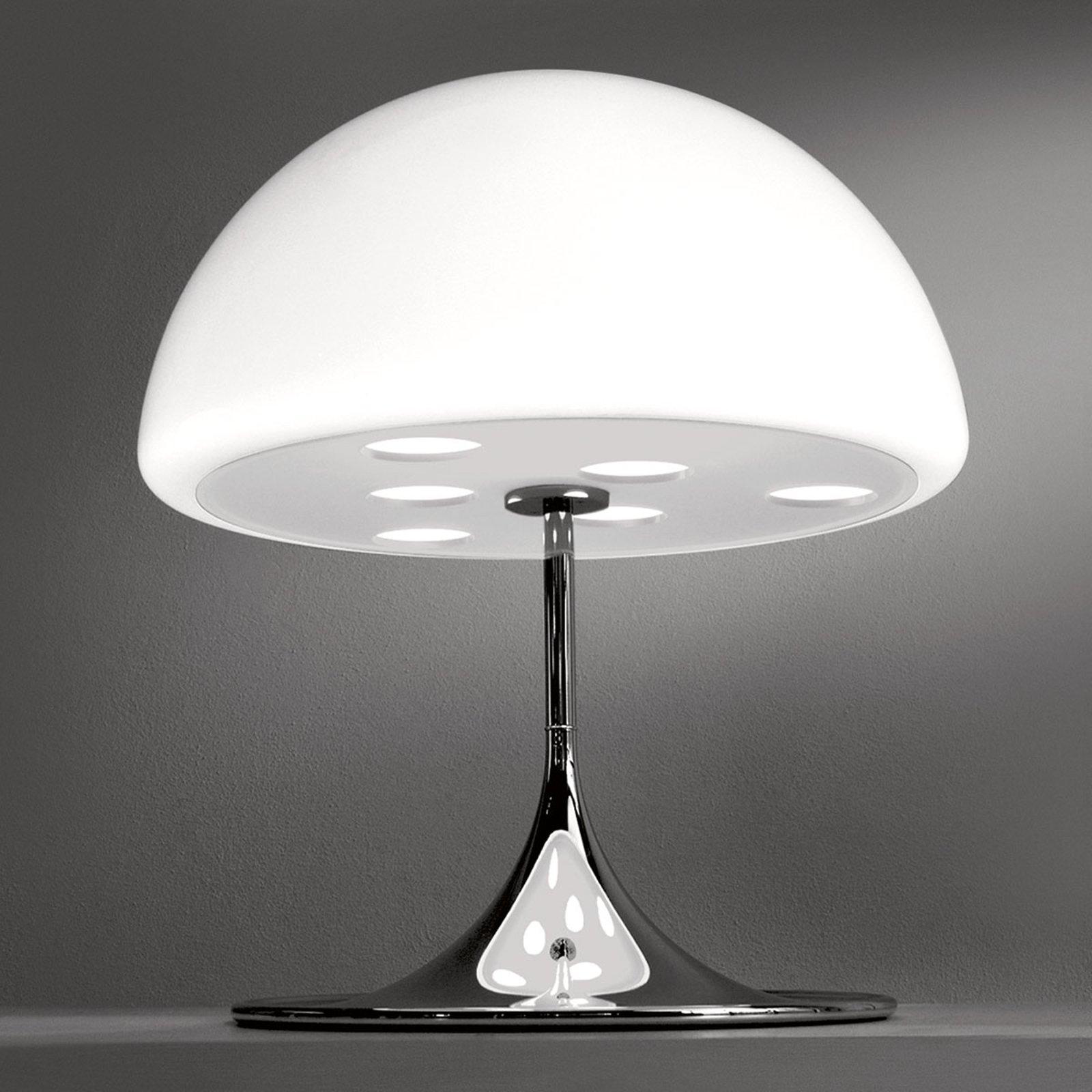 Martinelli Luce Mico – bordlampe 60 cm, hvit
