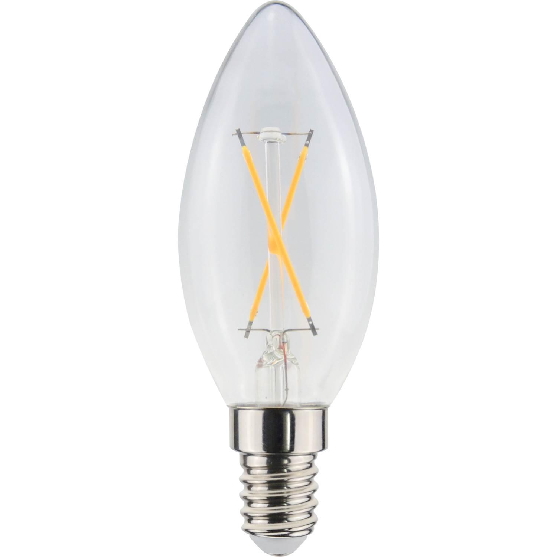 Elvita LED kron C35 E14 90lm 2-filame