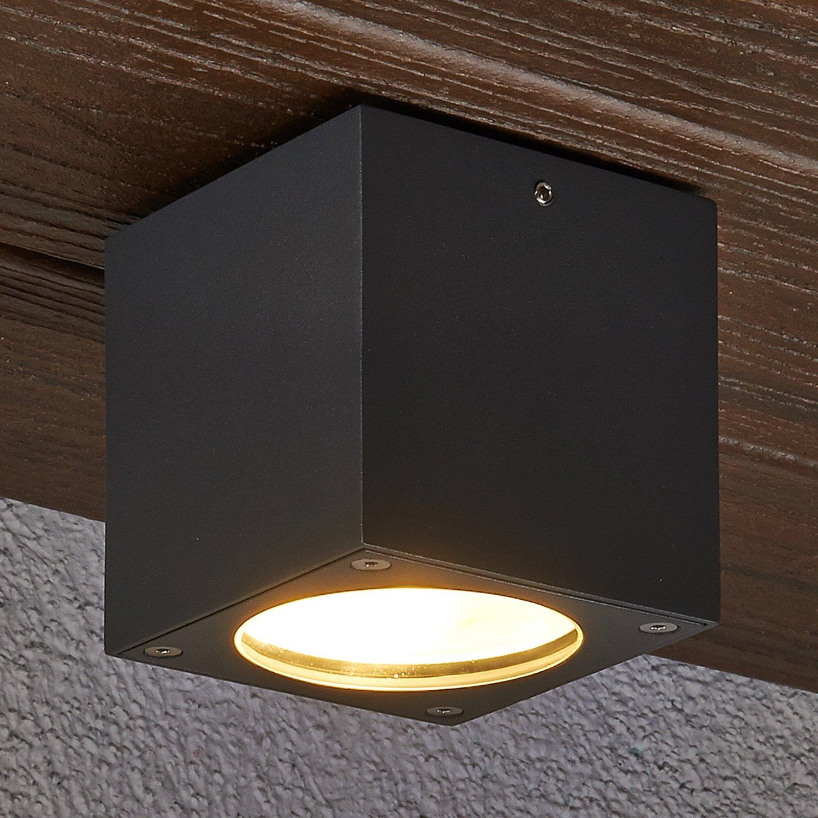 Kantet Meret LED-taklampe til utendørs bruk