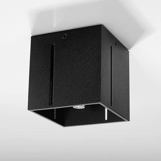 Topic taklampe med pent effektlys, svart