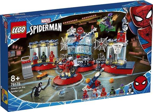 LEGO Marvel Super Heroes 76175 Angrep på edderkoppens hule