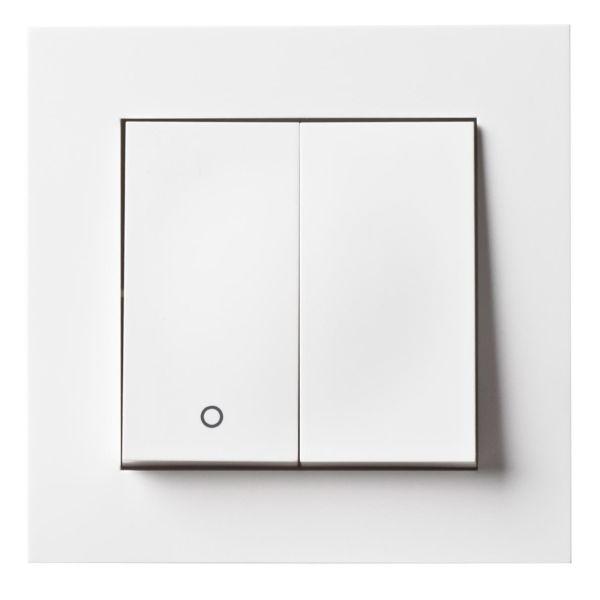 Elko Plus Strømstiller rask, hvit 2 + 1 pol