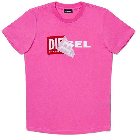 Diesel Tdiego T-Skjorte, Rosa Chiaro 10år