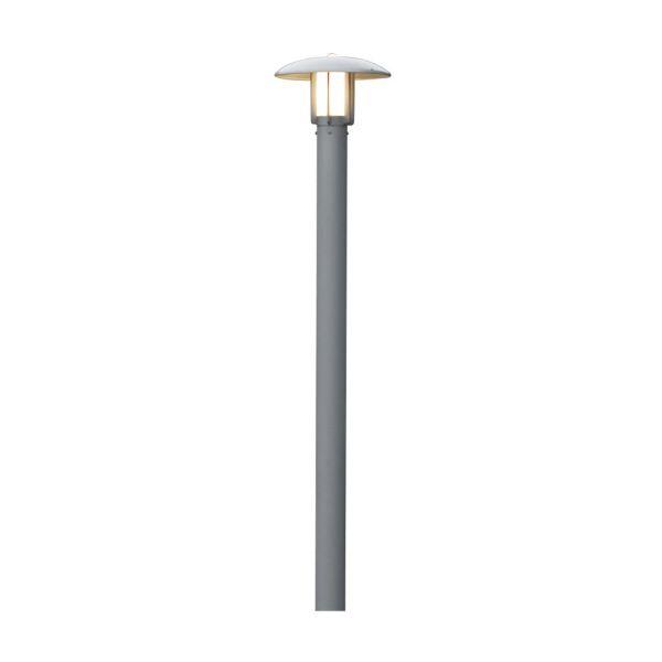 Konstsmide Heimdal Stolpelykt 20 cm, aluminium