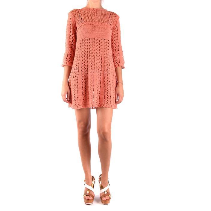 Elisabetta Franchi Women's Dress Orange 163929 - orange 40