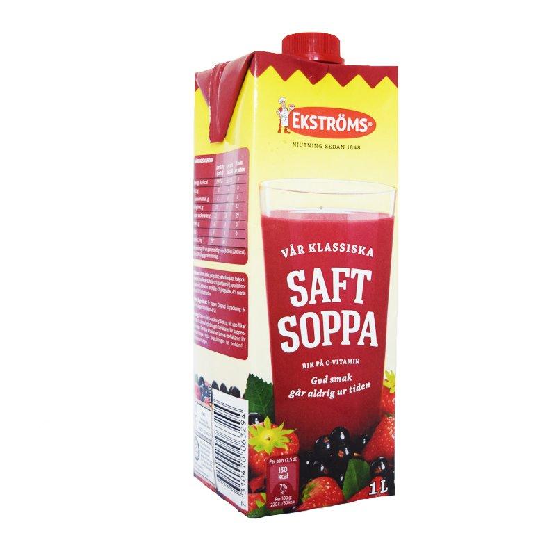 Saftsoppa 1l - 67% rabatt