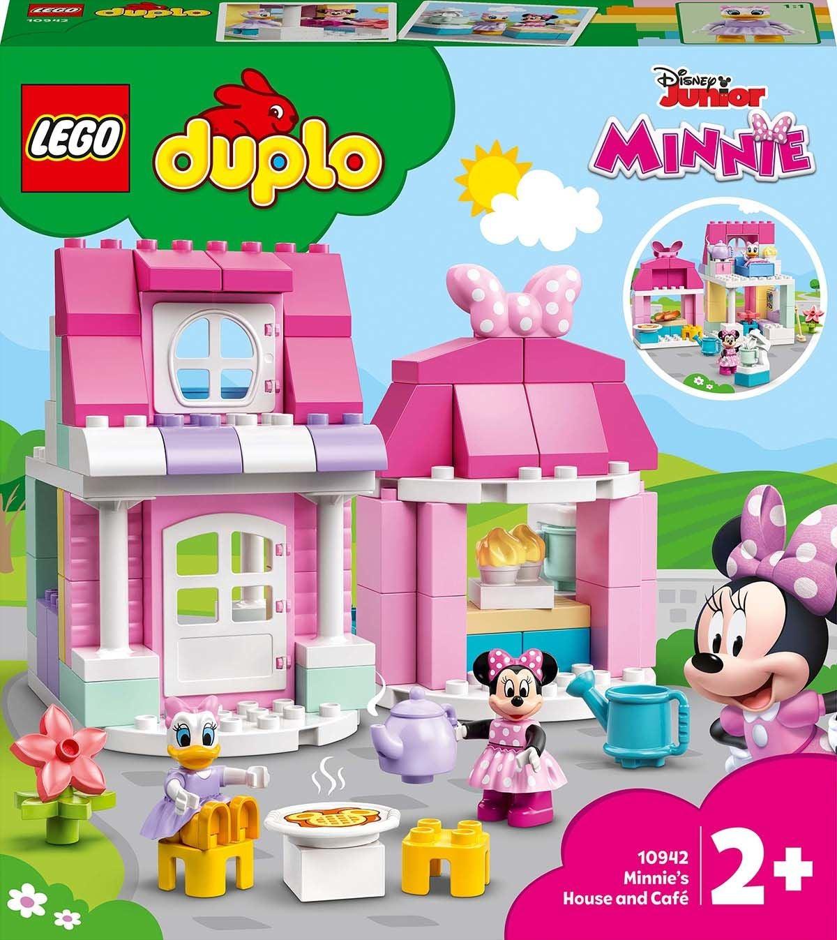 LEGO DUPLO Disney 10942 Minnin Koti ja Kahvila
