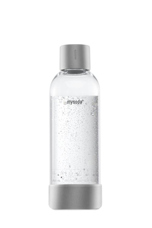 Mysoda 1l Flaske 1-pak Ss Silver Kolsyremaskin -