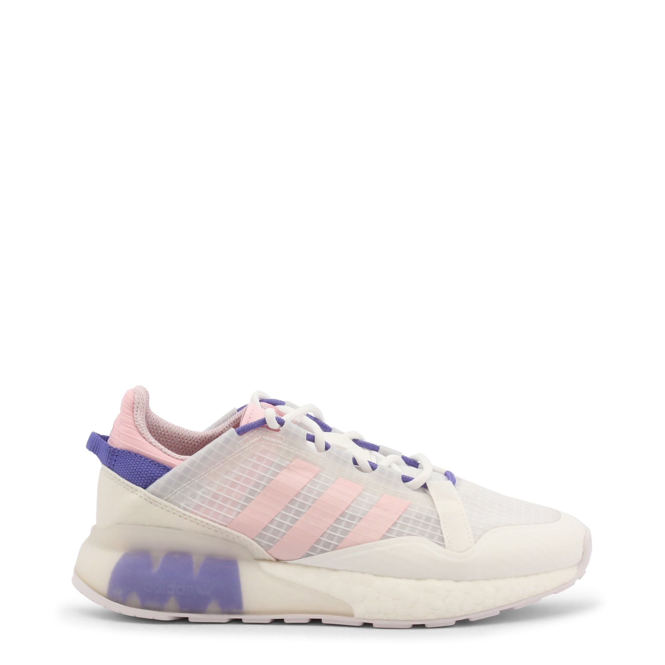 Adidas Women's ZX2K Boost-Pure Sneakers Shoes White 349627 - white-1 UK 4.5