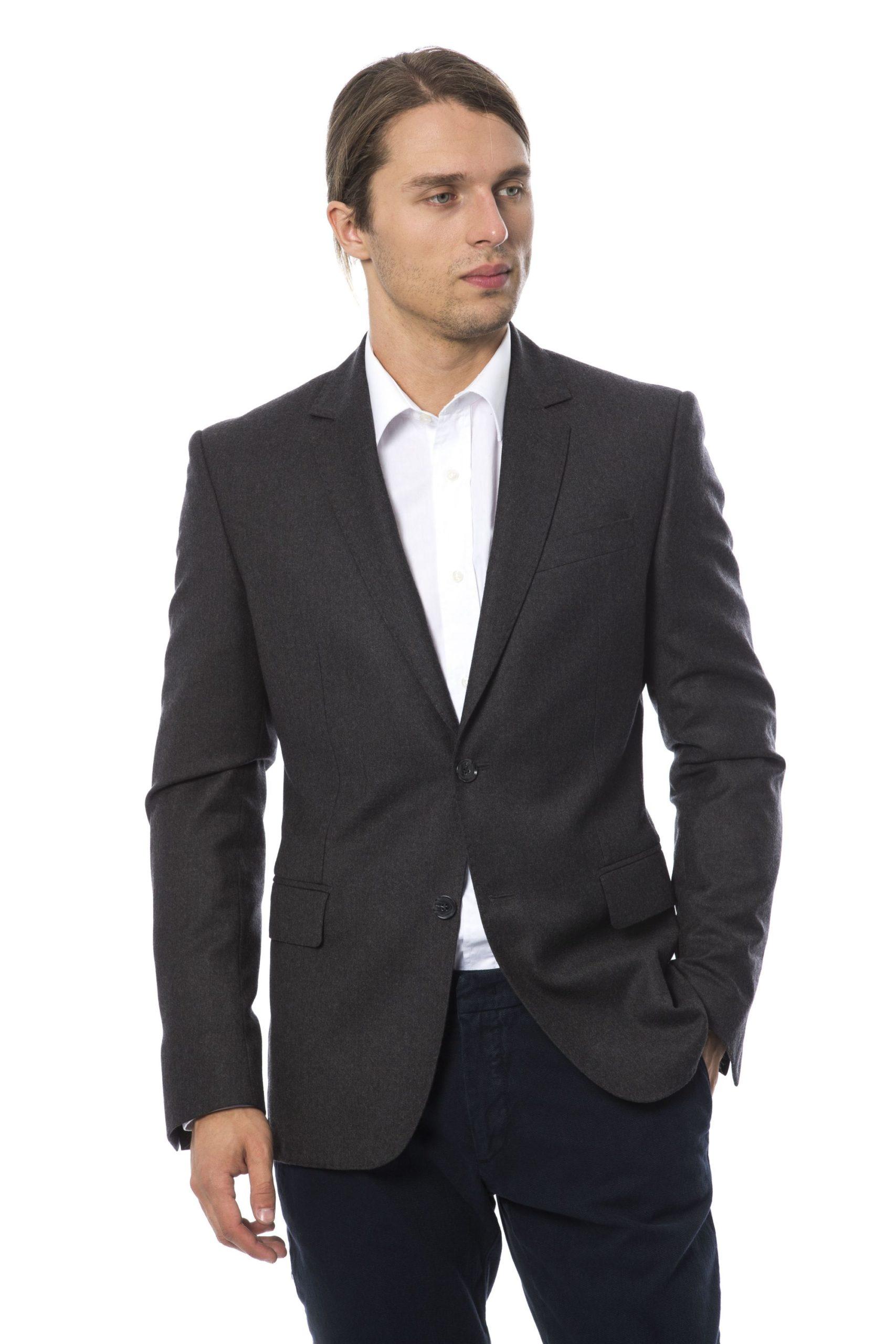 Verri Men's Vgrigiochiaro Blazer Gray VE995272 - IT48 | M