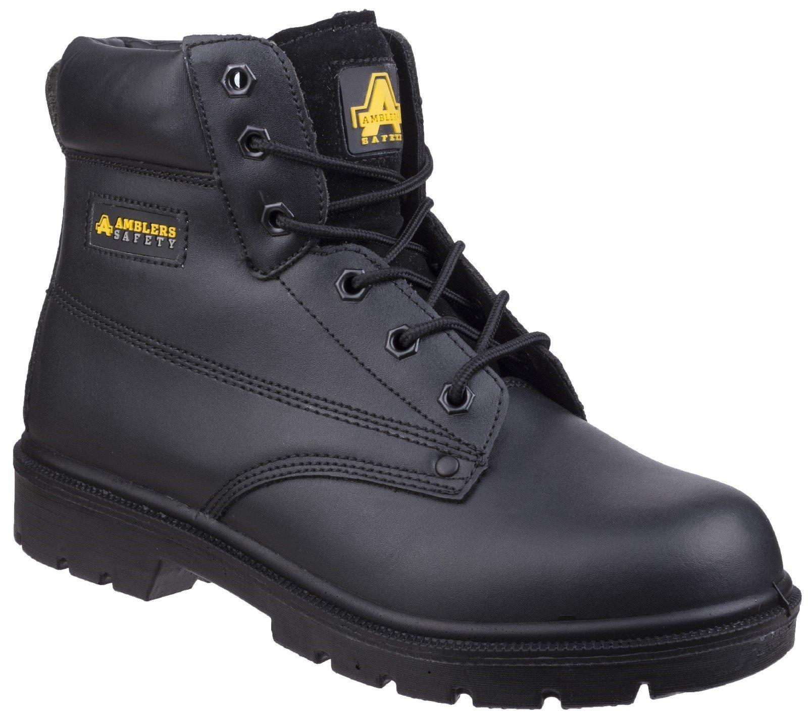 Amblers Unisex Safety S3 Boot Black 24864 - Black 4