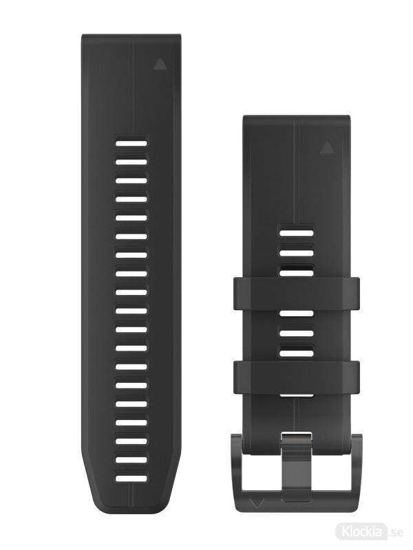 GARMIN QuickFit 26mm Klockarmband Svart Silikon 010-12741-00