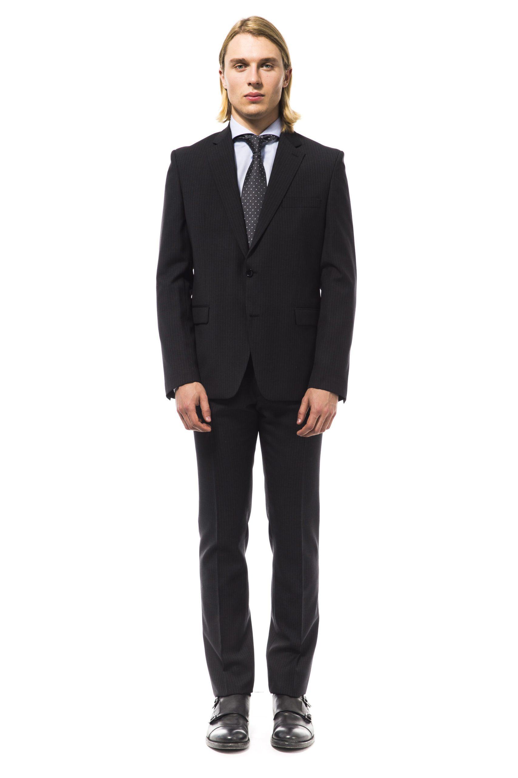 Uominitaliani Men's Suit Gray UO994678 - IT50 | L