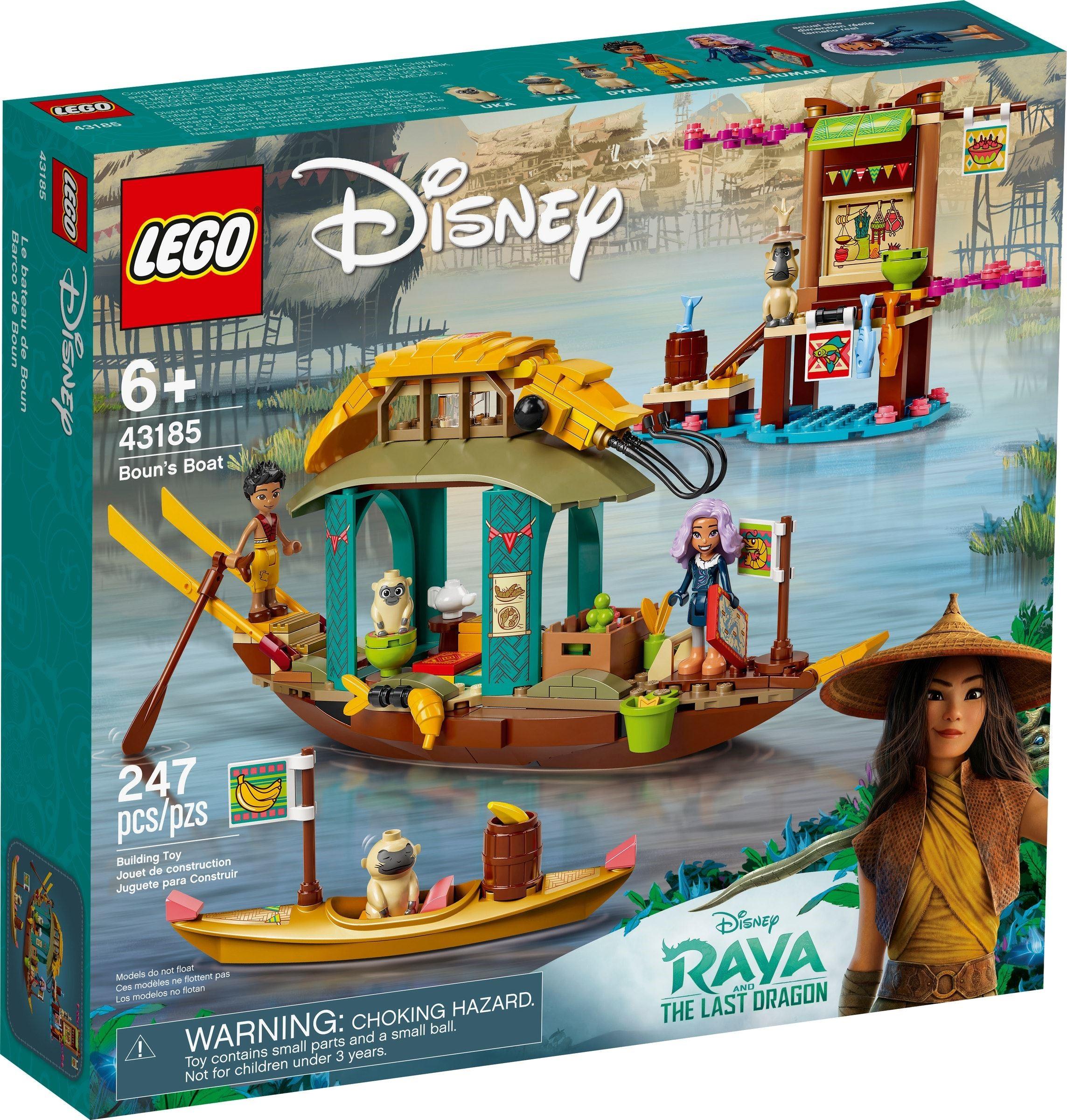 LEGO Disney Princess - Boun's Boat (43185)