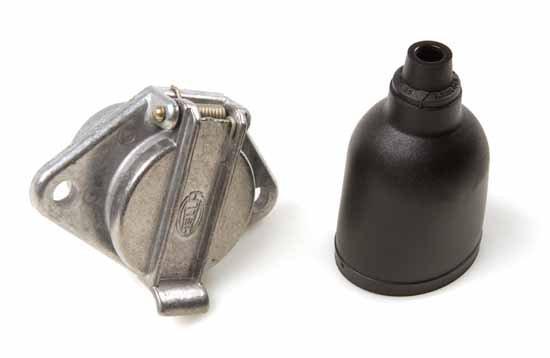 Stickdosa 7-polig skruv metal
