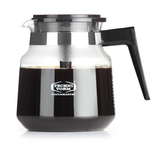 Moccamaster Glaskanna (h, Hb, Kb, Kbc) Tillbehör Till Kaffe & Te - Svart/glas