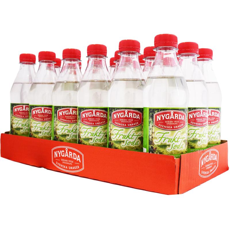 Hel Platta Fruktsoda 18 x 33cl - 44% rabatt