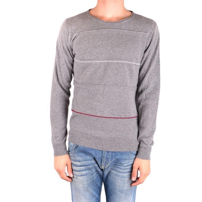 Daniele Alessandrini Men's Sweater Grey 186891 - grey 48