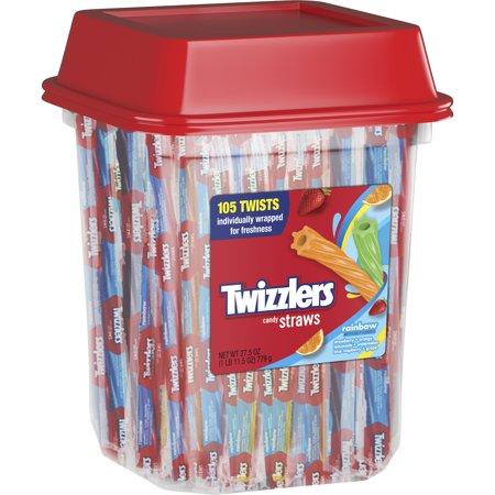 Twizzlers Rainbow Twist Tub 105st