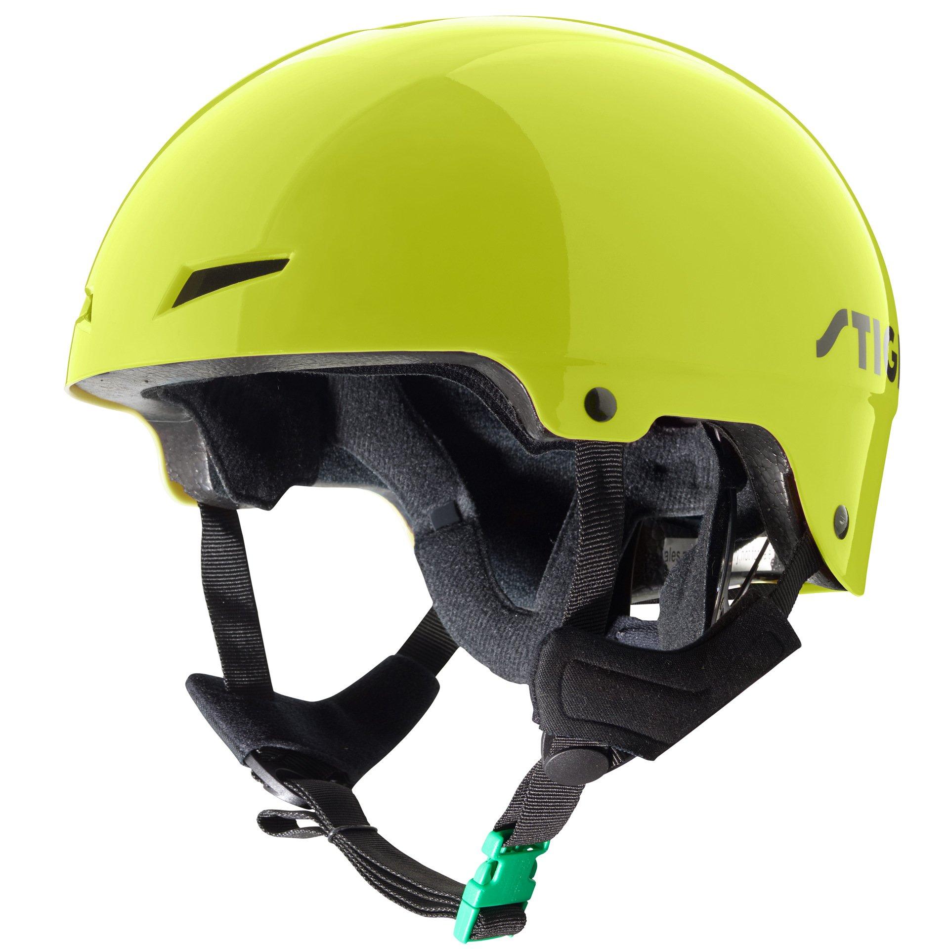 Stiga - Kids Helmet Play - Green M (52-56) (82-5049-05)