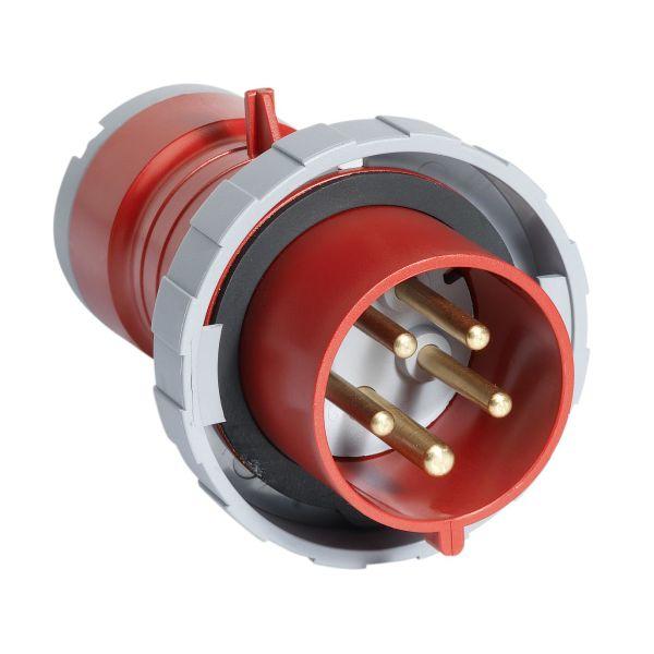 ABB 2CMA166494R1000 Pistotulppa IP67, 16 A, ruuvikiristin 5-napainen, Punainen
