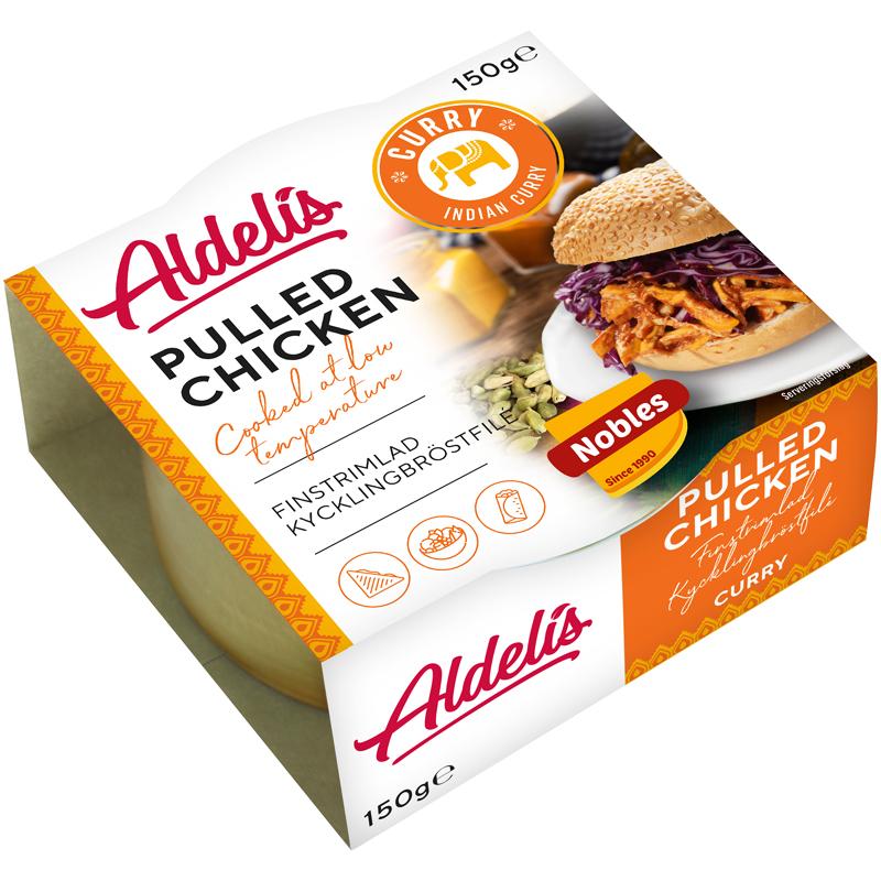 Pulled Chicken Curry - 14% rabatt