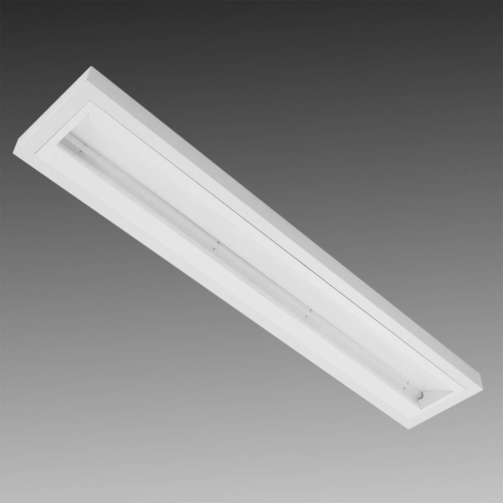 Utenpåliggende LED-lampe asymmetrisk, hvit 50 W