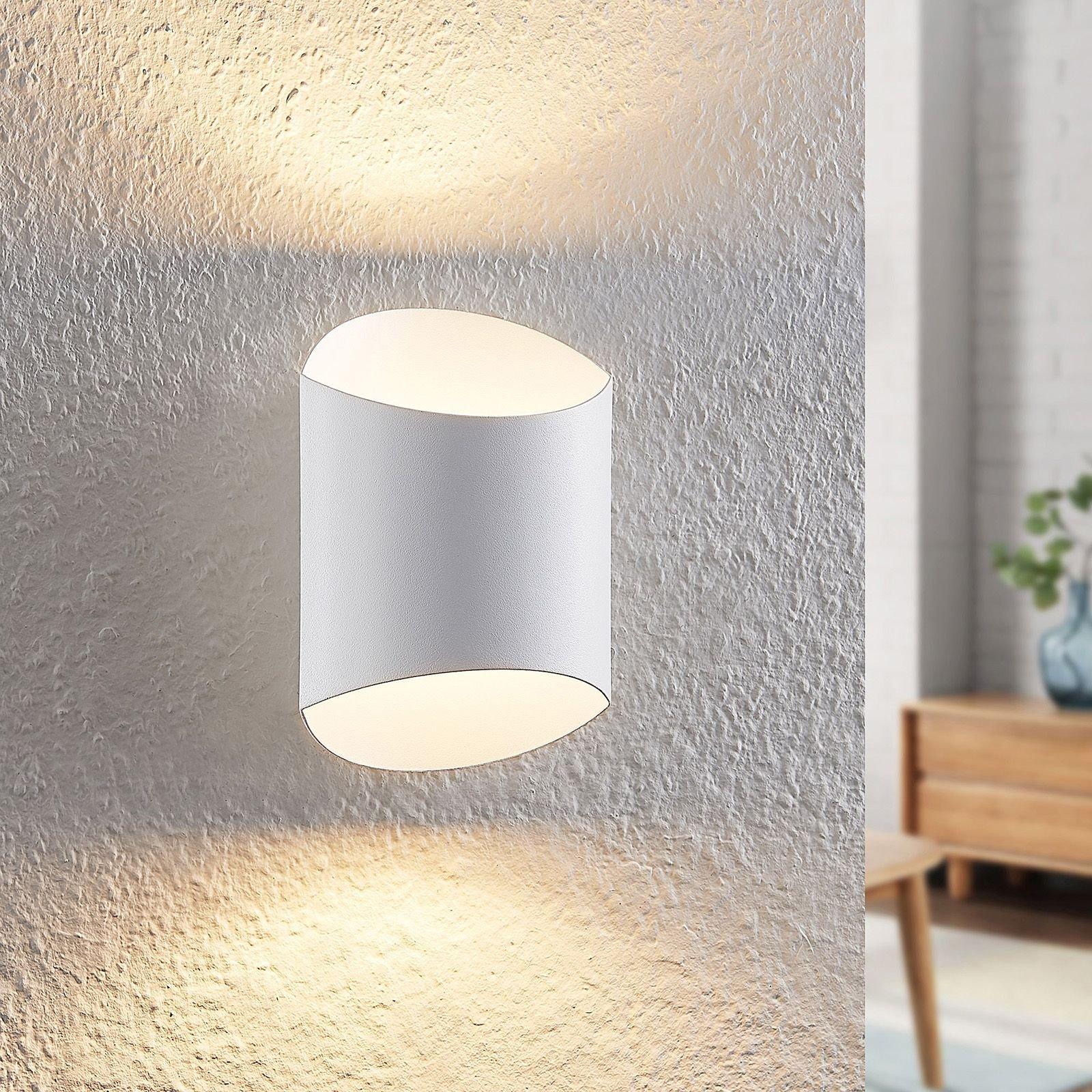 Arcchio Ayaz LED-vegglampe, hvit