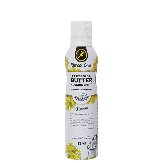 Slender Chef Cooking Spray, 200 ml, Butter