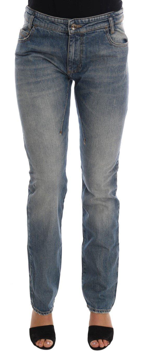 Costume National Women's Cotton Stretch Denim Jeans Blue SIG30136 - W26